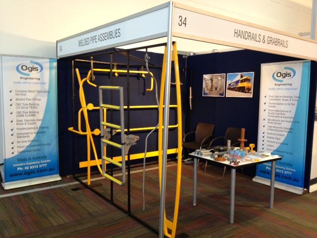 Ogis AusRail 2012 Stand