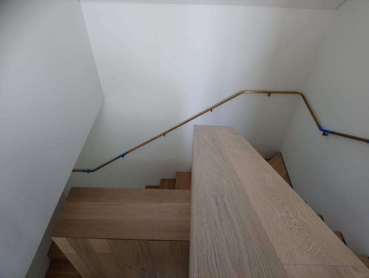 Brass Plated Handrail (15509)