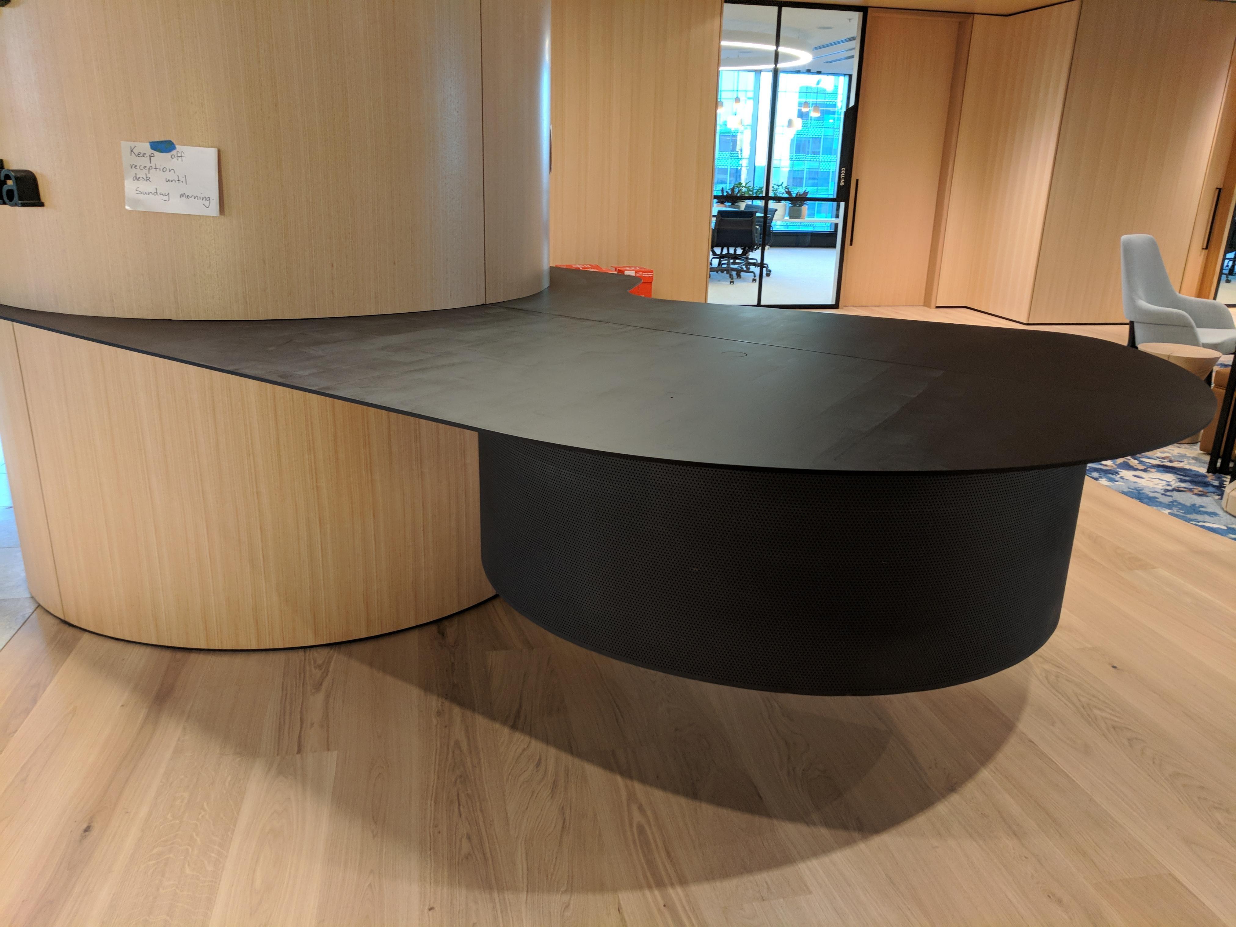 Floating Reception Desk (14725)